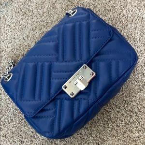 New Micheal Kors royal blue purse